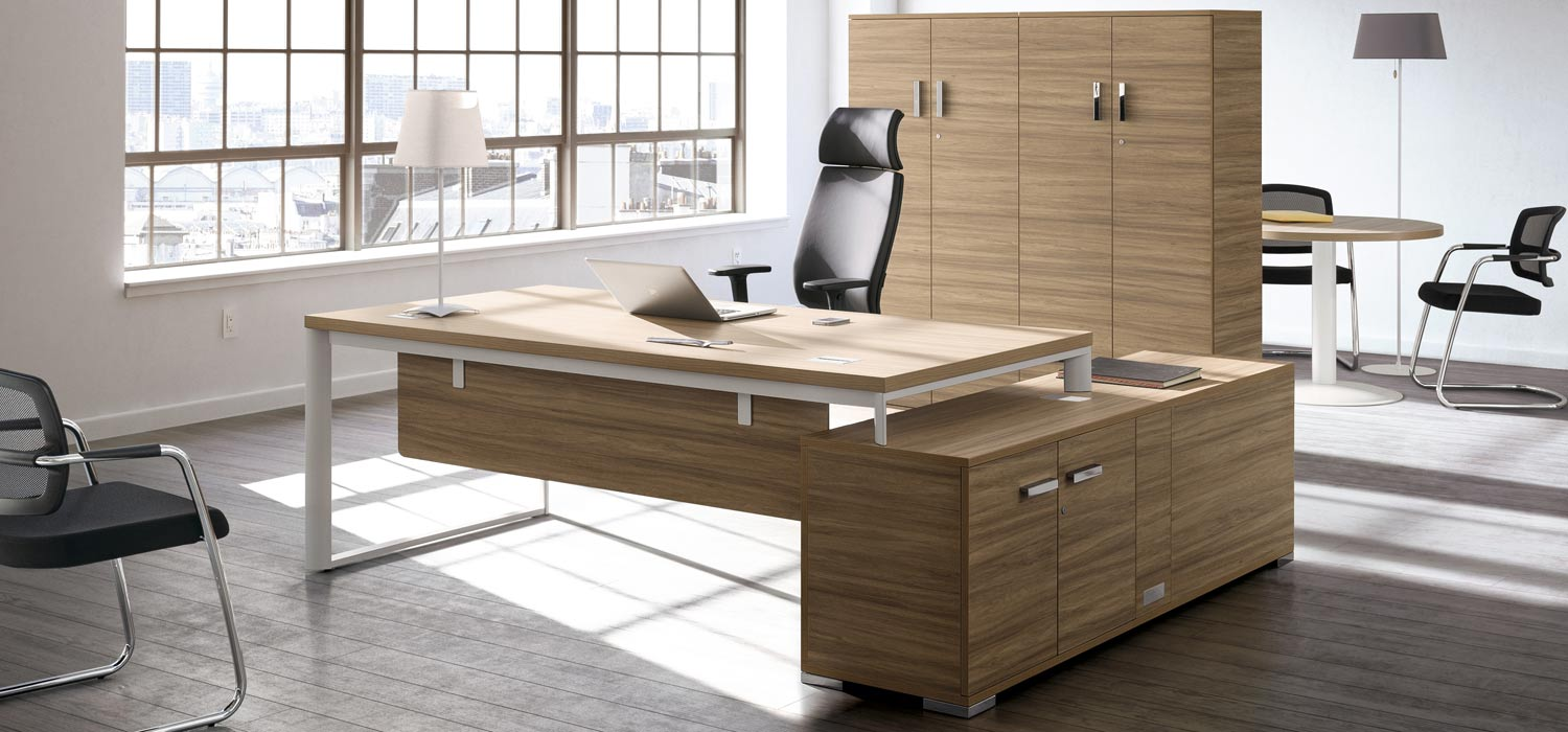 mobilier de bureau dalla santa bureaux de direction d. Black Bedroom Furniture Sets. Home Design Ideas